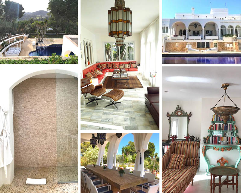 Ibiza Retreat Collage